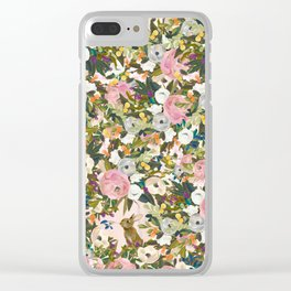 Fun fun with bun bun Clear iPhone Case