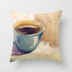 Morning Bliss Throw Pillow