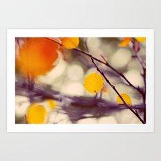 Light of Autumn Art Print