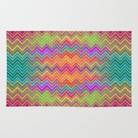 hippy Area & Throw Rugs featuring Hippy 2 by HK Chik