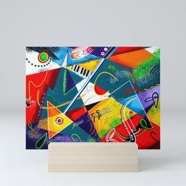 Performing Arts - Energy of Music Mini Art Print
