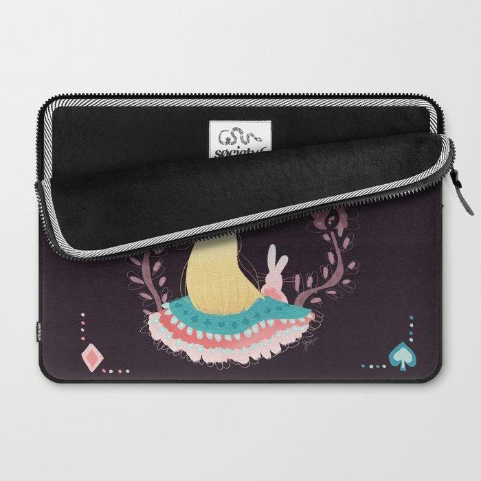 Alice In Wonderland. Laptop Sleeve