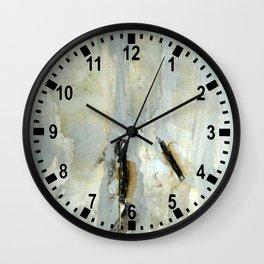 Broken matchstick Wall Clock