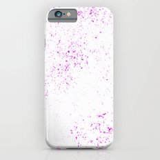 Pink Splatter Slim Case iPhone 6s