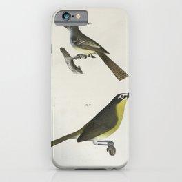 1298 70 The Great crested Kingbird (Tyrannus crinitus) 71 The Yellow brested Chat (Icteria viridis)26 iPhone Case