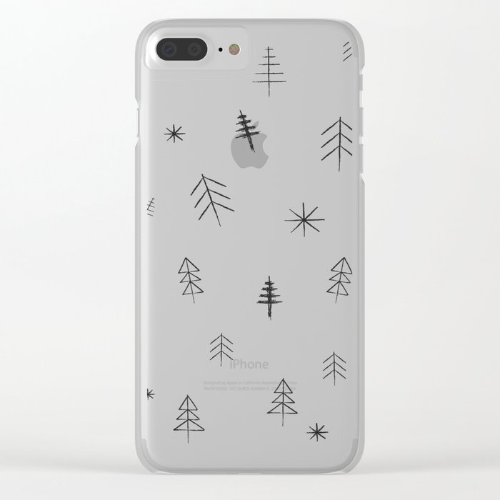 O Christmas tree[s] Clear iPhone Case
