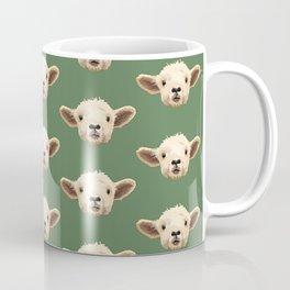 Sweet Lamb in the Barnyard Coffee Mug