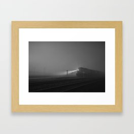 The Houston Express Framed Art Print