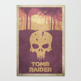 Sacrifices - Tomb Raider 2013 Poster Canvas Print