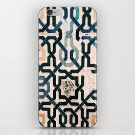 Alhambra Tiles. iPhone Skin