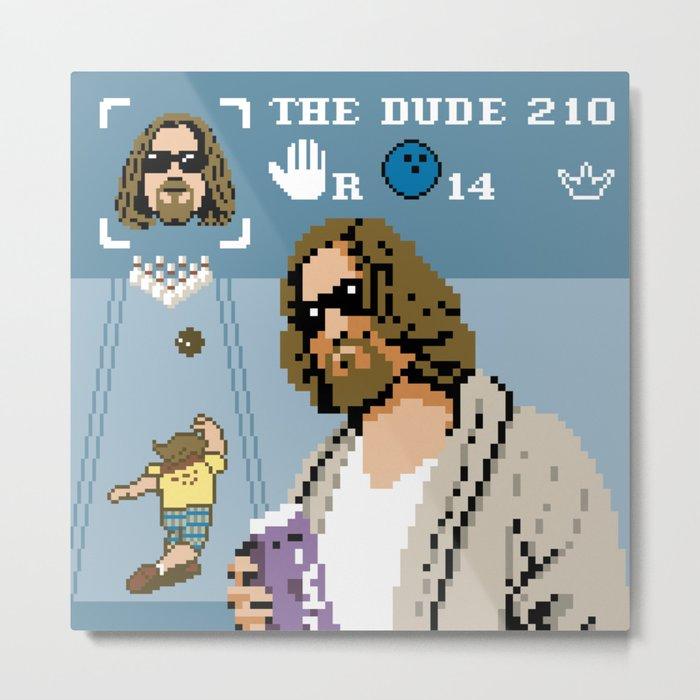 The Big Lebowski - The Dude Abides Metal Print