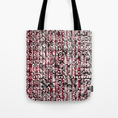 Linear Thinking Trip-Switch (P/D3 Glitch Collage Studies) Tote Bag