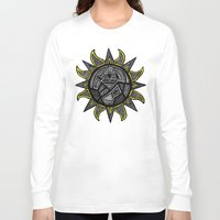 sunshine Long Sleeve T-shirts featuring Sunshine by Lauren Moore