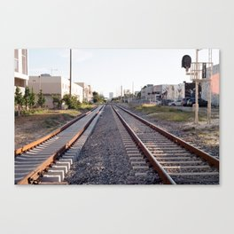 Stay on Track Canvas Print