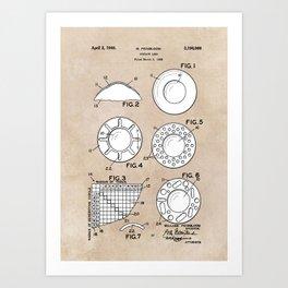 patent art Feinbloom Contact Lens 1938 Art Print