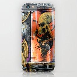 Alien Graffiti  iPhone Case