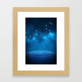 Leo: Astrological Art Framed Art Print