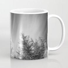 Mountain forest. BW Mug