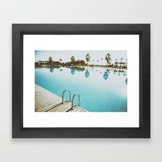 POOL Framed Art Print