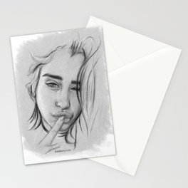 Lauren Gray Sketch Stationery Cards