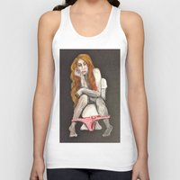 georgia Tank Tops featuring Georgia by Gabby Grife | GuinArt