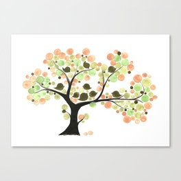TEA PARTY TREE Canvas Print
