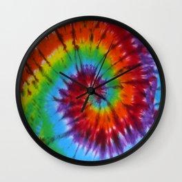 Tie Dye 004 Wall Clock