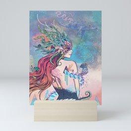 The Last Mermaid Mini Art Print