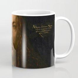 Self-Portrait at the Age of Twenty Eight by Albrecht Dürer Coffee Mug