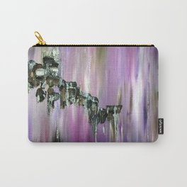 Purple Borealis Carry-All Pouch