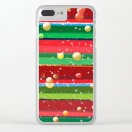 Christmas Morning Clear iPhone Case