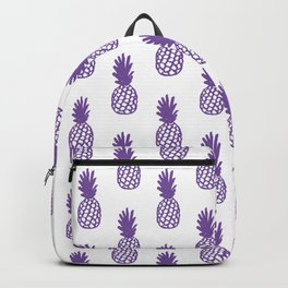 Purple Pineapple Backpack
