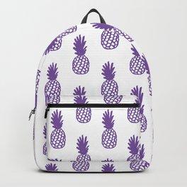 Purple Pineapple Backpack