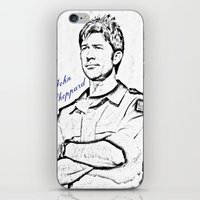 stargate iPhone & iPod Skins featuring John Sheppard by Samy