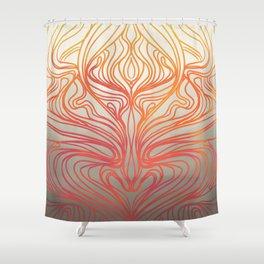 Fan Coral Shower Curtain
