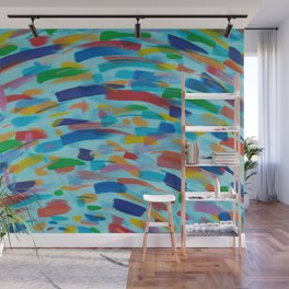 Color Whirl Wall Mural