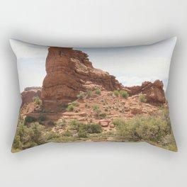 Balanced Rock Rectangular Pillow