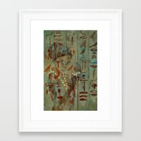 egypt Framed Art Prints featuring Egypt by pledent