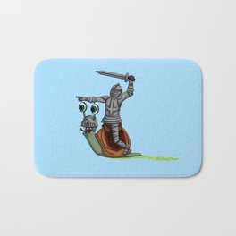 The snail and the Knight Bath Mat
