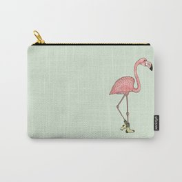 Flamingo Socks Carry-All Pouch