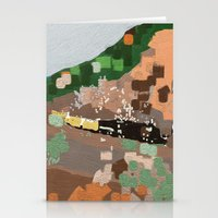 train Stationery Cards featuring Train by Robert Morris