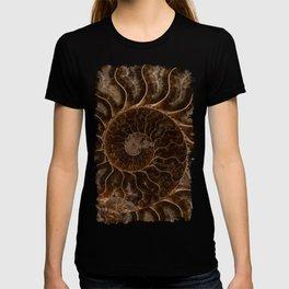 Brown Ammonite T-shirt