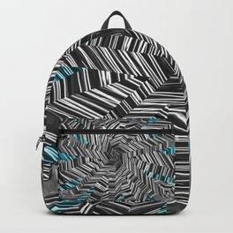 Crazy Blue Zebra Backpack