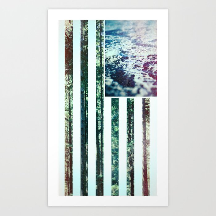 USA Wilderness Art Print