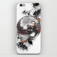 panic at the disco iPhone & iPod Skins featuring Panic! At The Disco by Andrea Valentina