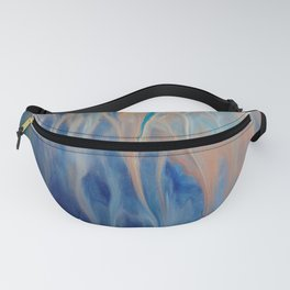 Sands of Time - Abstract Acrylic Art by Fluid Nature Fanny Pack
