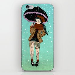 Winter Rock iPhone Skin