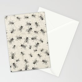 House Fly chaos Stationery Cards