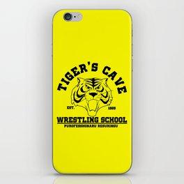 Tiger's cave wrestling school iPhone Skin