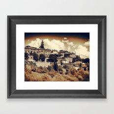 Old Town II Framed Art Print